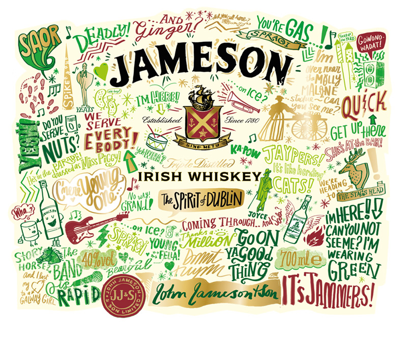Jameson Reveals St. Patrick's Day Limited Edition Bottle by Jameson in Package Design Inspiration for May 2014
