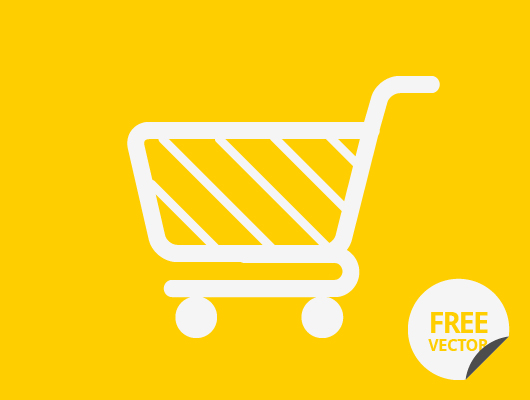 Shopping Cart Icon by Wassim in 40+ Fresh and Flat Icon Sets for May 2014
