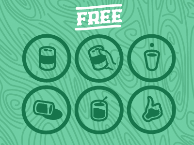 Free Icons by Noah Kinard in 40+ Fresh and Flat Icon Sets for May 2014