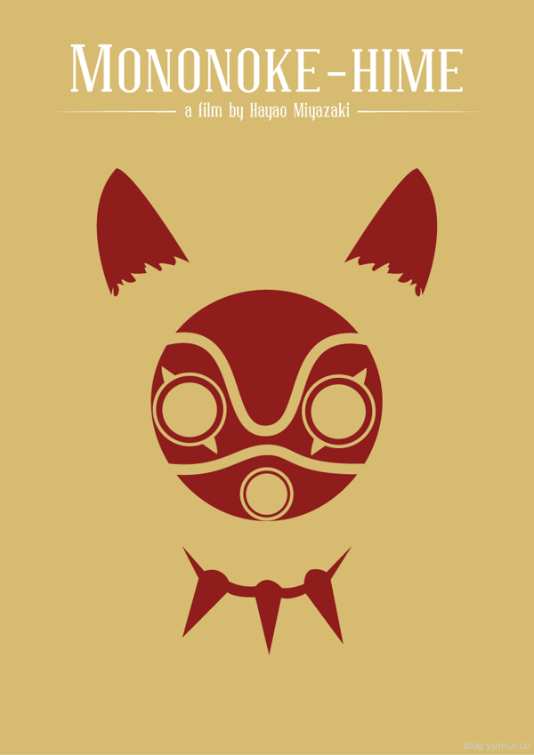 Hayao Miyazaki Movie Posters by José Elpídio in Showcase of Minimal Movie Posters #7