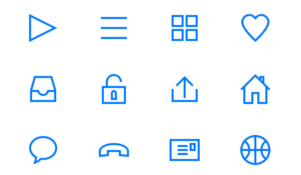 Lightly Icons Free by Timothy Miller in 40+ Fresh and Flat Icon Sets for May 2014
