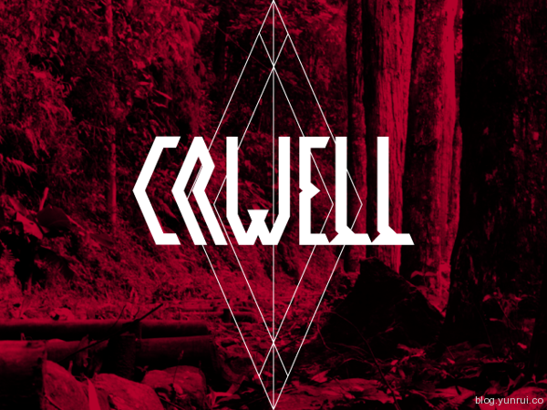Crwell Free Font by Xato in 40+ Fresh and Free Fonts for May 2014