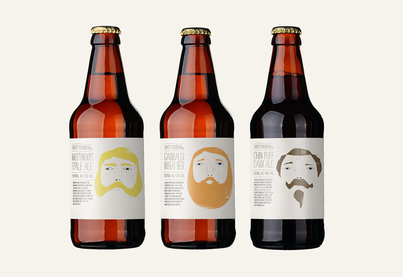 Wotton Brewery by Confederation Studio in Package Design Inspiration for May 2014