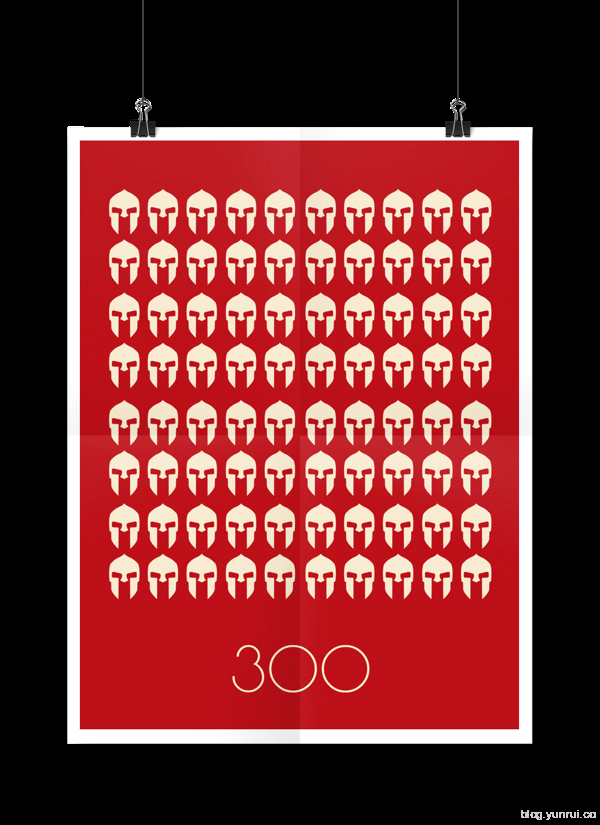Minimal Movie Poster Series. Part I by Vitaly Zaharoff in Showcase of Minimal Movie Posters #7