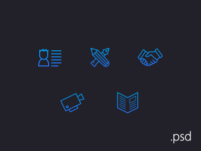 Icons by Stjepan Grgic in 40+ Fresh and Flat Icon Sets for May 2014