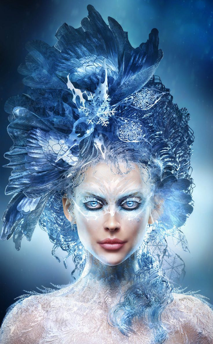 Ice Princess by Adamec in The Most Beautiful CG Girls 2
