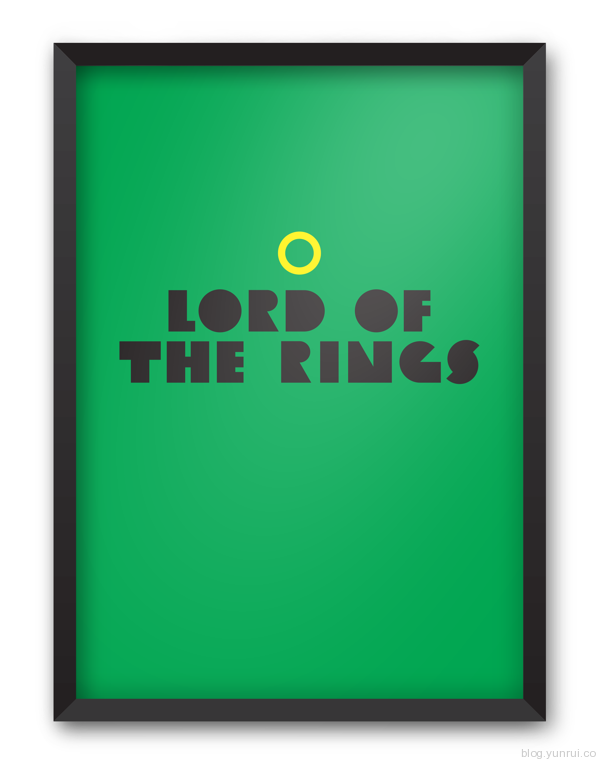 Minimal Movie Posters #1 by Jesse Pyysalo in Showcase of Minimal Movie Posters #7