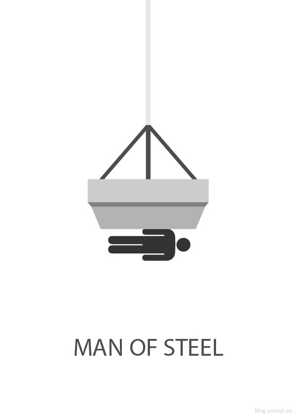 Minimalist Movie Posters by Samuel Navarro in Showcase of Minimal Movie Posters #7