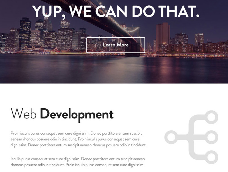 Escape in 35 Free and Flat PSD Web Templates