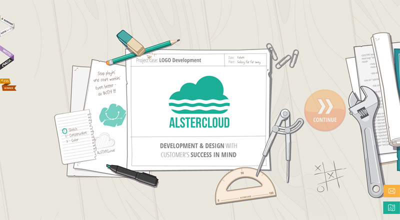 AlsterCloud in Web Design Inspirational Cocktail #91