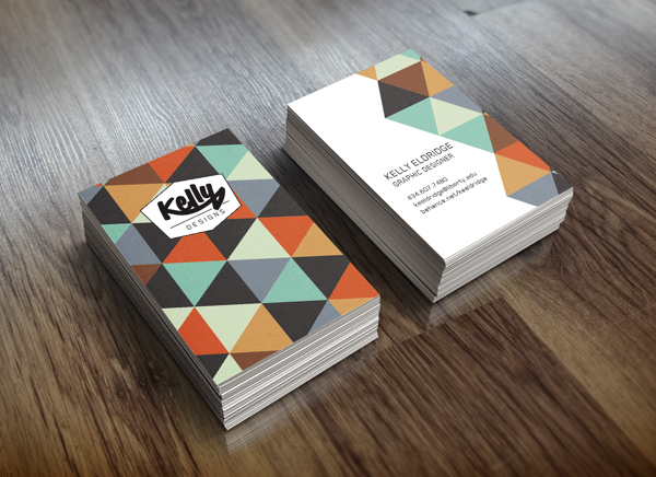 Business Card by Kelly Eldridge in 35+ Creative Business Cards