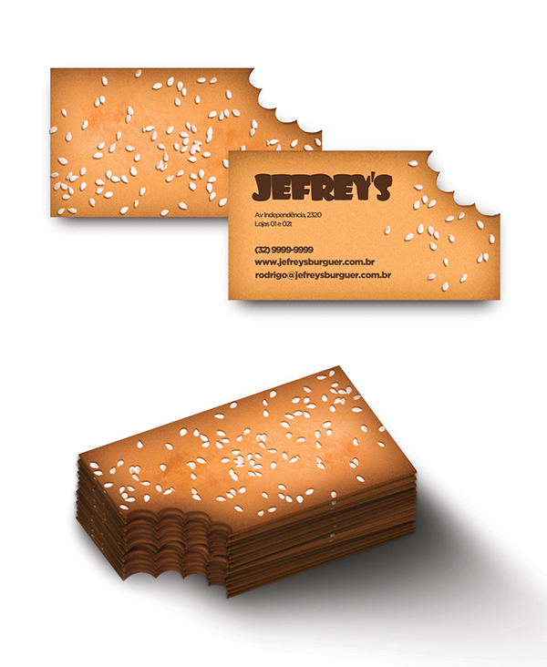 Papelaria Jefreys by Marcos Frazão in 35+ Creative Business Cards