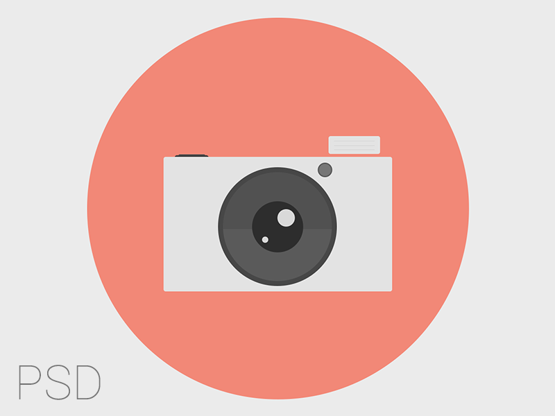 Camera Vector by Vivien Bocquelet in 40 Free Icon Sets For June 2014