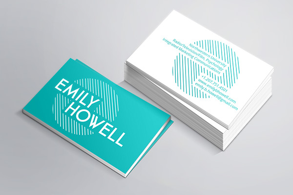 Business Card by Emily Howell in 35+ Creative Business Cards