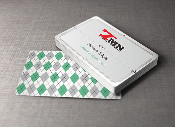Business Card by rizky tmn in 35+ Creative Business Cards