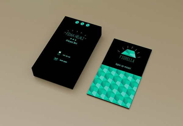 Fiorella Branding by Sabrine Smidi in 35+ Creative Business Cards