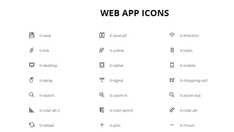Free Icon Font by Hernan Vionnet in 40 Free Icon Sets For June 2014