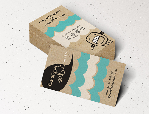 Business card design by shannon adolph in 35+ Creative Business Cards