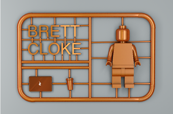 Brett Cloke Identity in 35+ Creative Business Cards