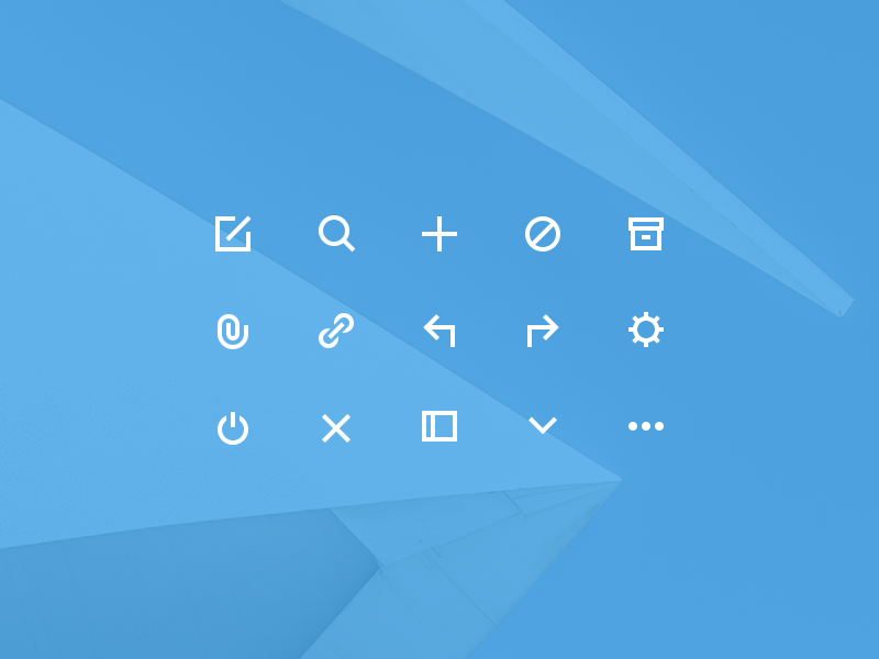 Free Icons by Thom in 26 Free and Flat Icon Sets