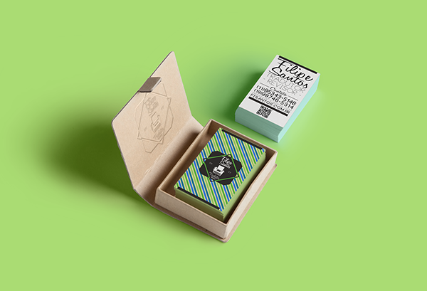 Filipe Santos Business Card by Lucas Rodrigues in 35+ Creative Business Cards