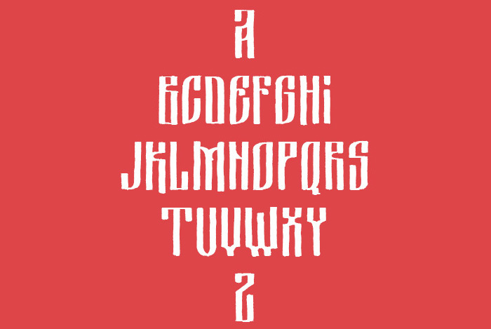 Tsarevich Free Typeface by Misha Panfilov in 27 Fresh and Free Fonts for June 2014