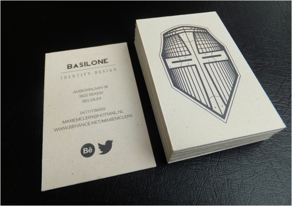 Personal Business Cards by Maxiem Clerx in 35+ Creative Business Cards