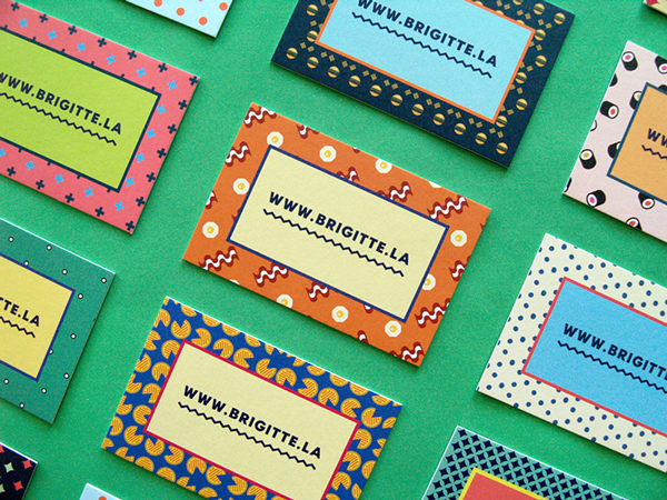 Personal Cards by Brigitte La in 35+ Creative Business Cards
