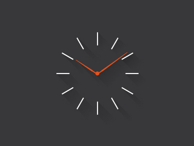 Clock by James Lafuente in 40 Free Icon Sets For June 2014