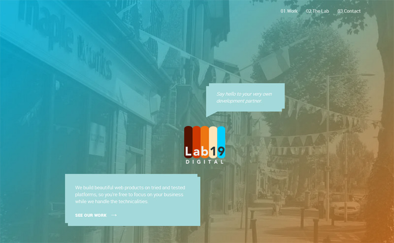 Lab19 Digital in 33 New Websites with Clean and Minimalist Design
