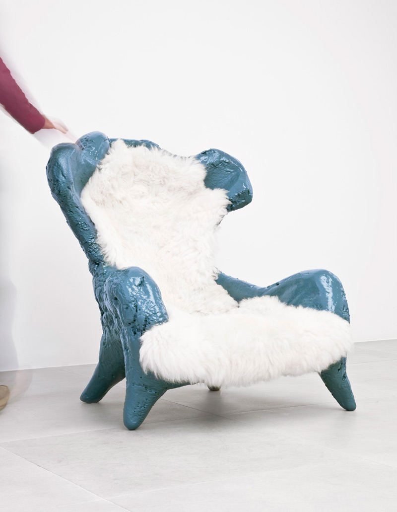 Fossil chair by atelier van lieshout in Creative Furniture Collection for June 2014