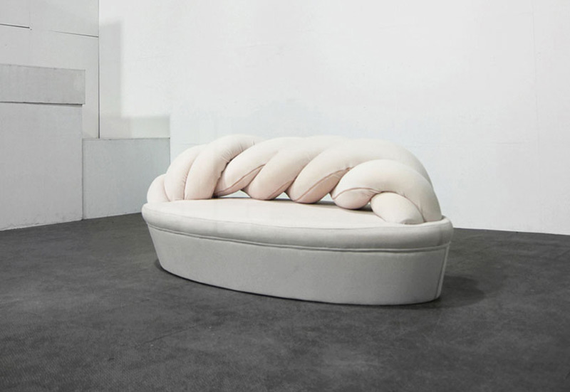 Marshmallow sofa by kamkam in Creative Furniture Collection for June 2014