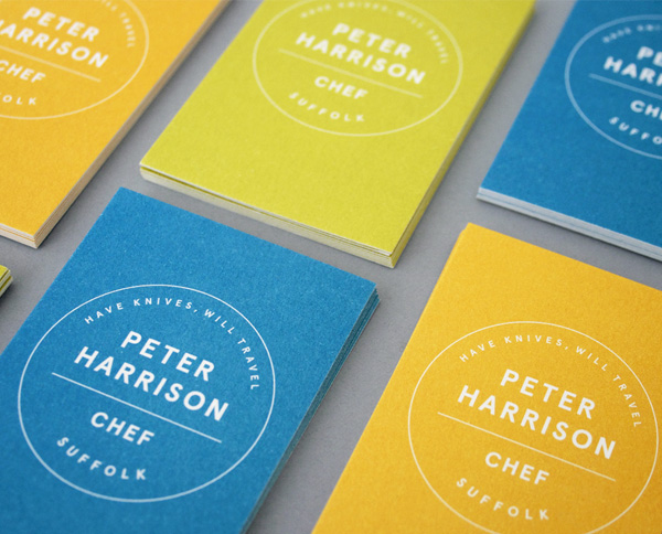 Peter Harrison by Caravan in 35+ Creative Business Cards