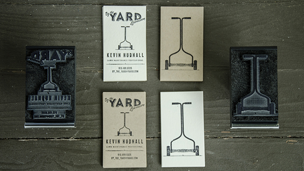 By The Yard by Jared Bergeron in 35+ Creative Business Cards