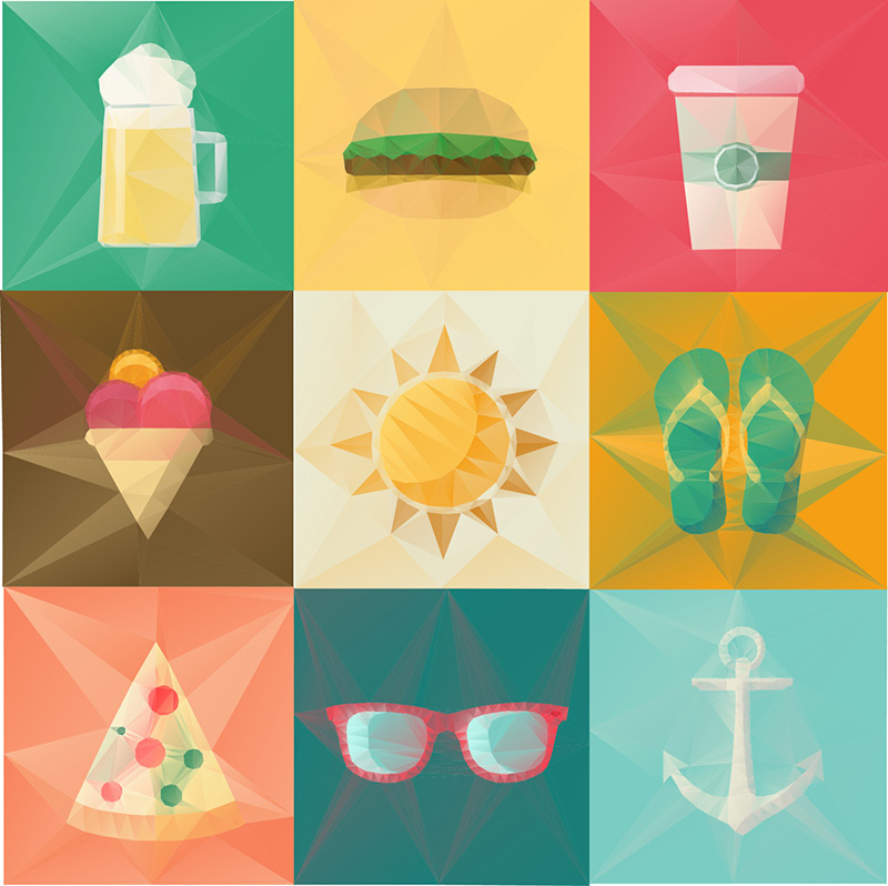 Set Icon By Ideealizse by Lise Halluin in 40 Free Icon Sets For June 2014