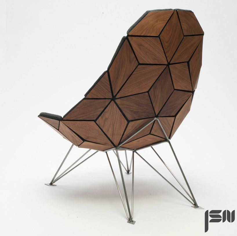 Tile chair by JSN design in Creative Furniture Collection for June 2014