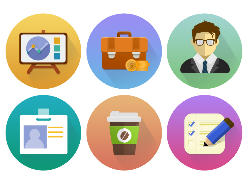 Free Flat Circle Icon by Junoteam in 40 Free Icon Sets For June 2014