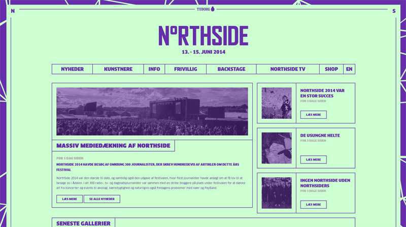 NorthSide in Web Design Inspiration: Swiss Style