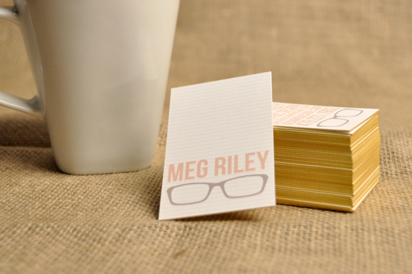 Personal Identity by Maegan Riley in 35+ Creative Business Cards