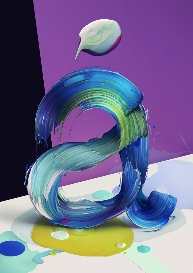 Atypical by Pawel Nolbert in 60+ Examples of Creative Typography