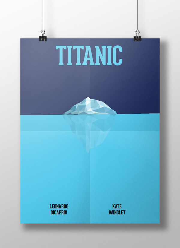 Minimalist Movie Posters by AJ Nelson in Showcase of Minimal Movie Posters #8