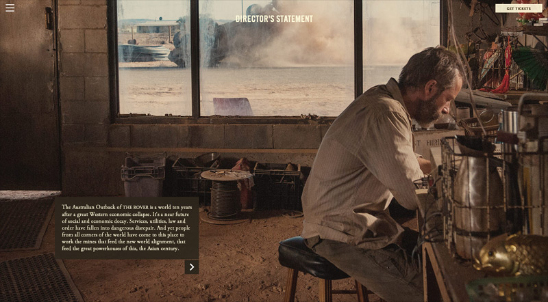 The Rover in 30 Creative Website Designs 2014