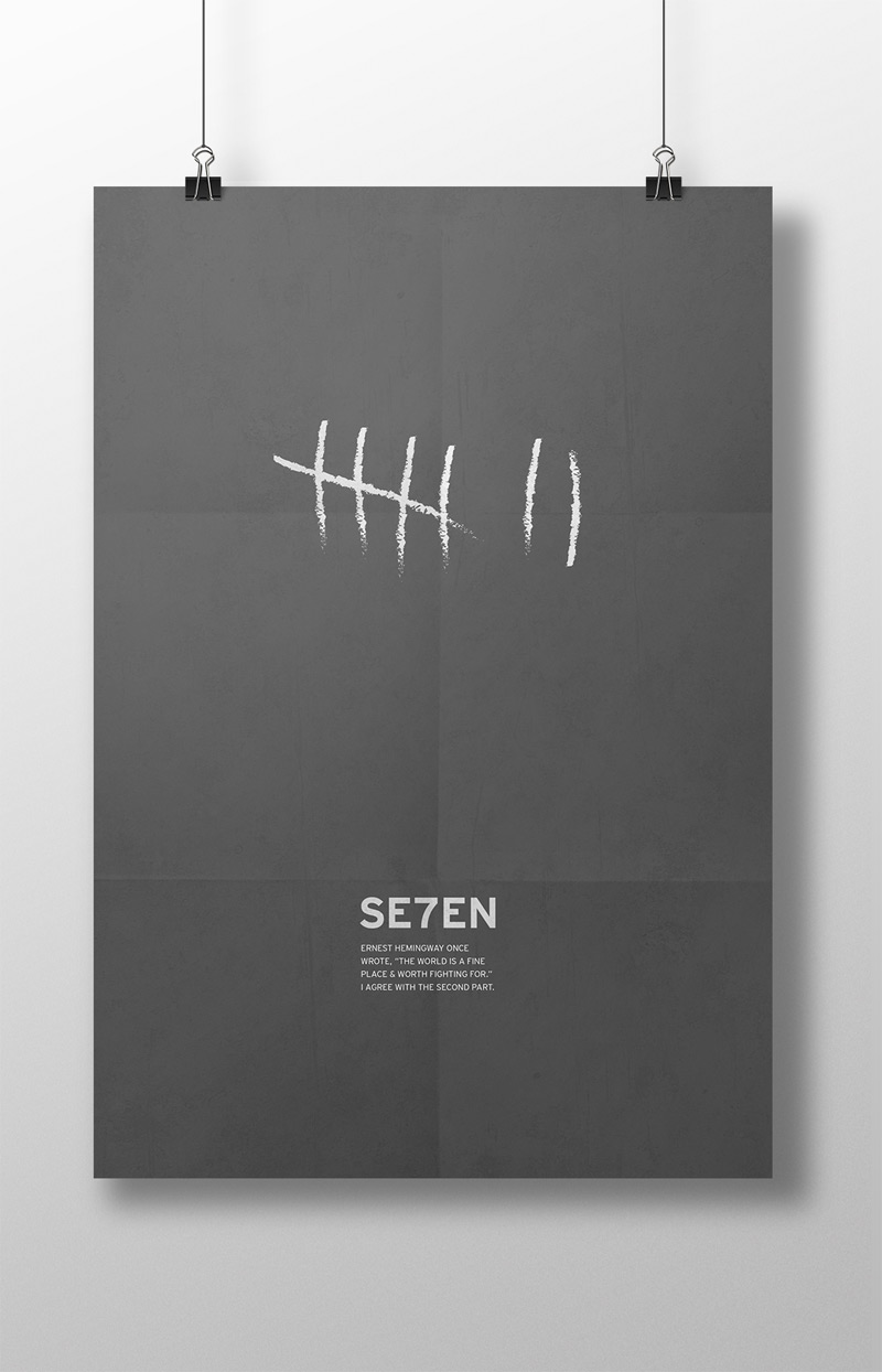 Minimalist Film Posters by Lauren Ashmore in Showcase of Minimal Movie Posters #8