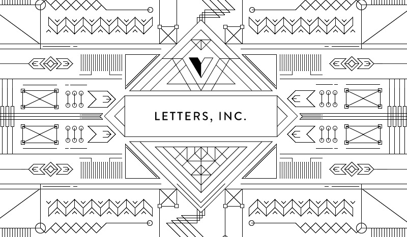 Letters, Inc. in 30 Creative Website Designs 2014