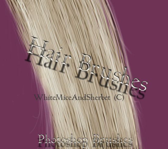 hair brushes by whitemiceandsherbet d7ob0fe 550x488 Awesome New Photoshop Brushes for Photo Manipulation   Vol.1