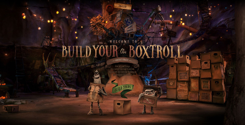 The Boxtrolls in Web Design Inspirational Cocktail #92