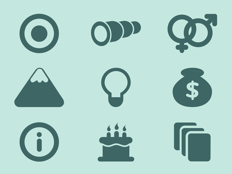 Free Icons by Austin Price in 38 Fresh and Modern Icon Sets