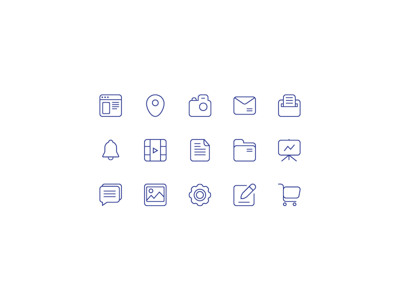 Free Icons by Oleksii Dudko in 38 Fresh and Modern Icon Sets