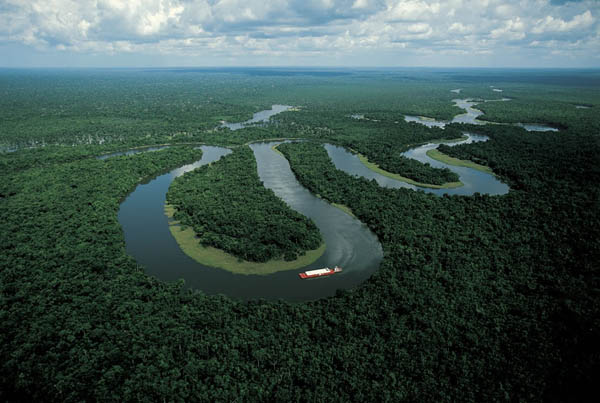 Amazon River near Manaus, Brazil