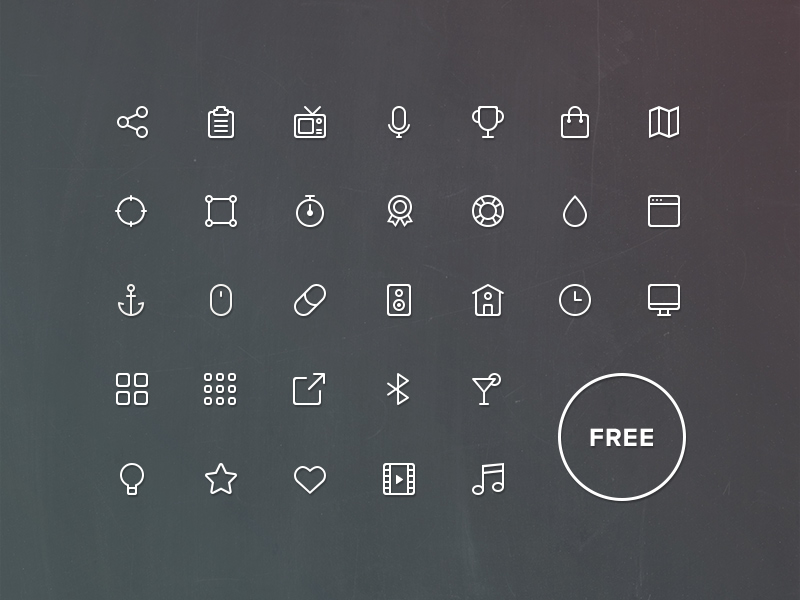 Buddha Line Icons Complete by PixelBuddha in 38 Fresh and Modern Icon Sets